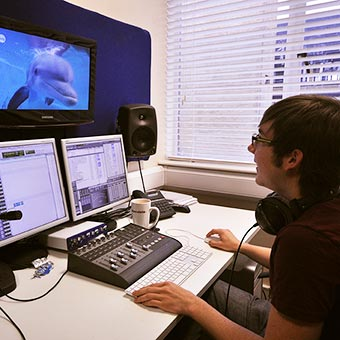 Sound editing at Twig World