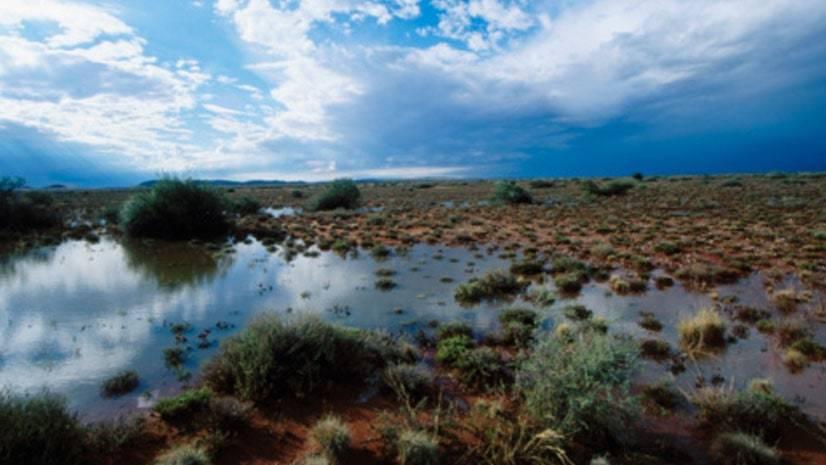 Grande inundação do Kalahari
