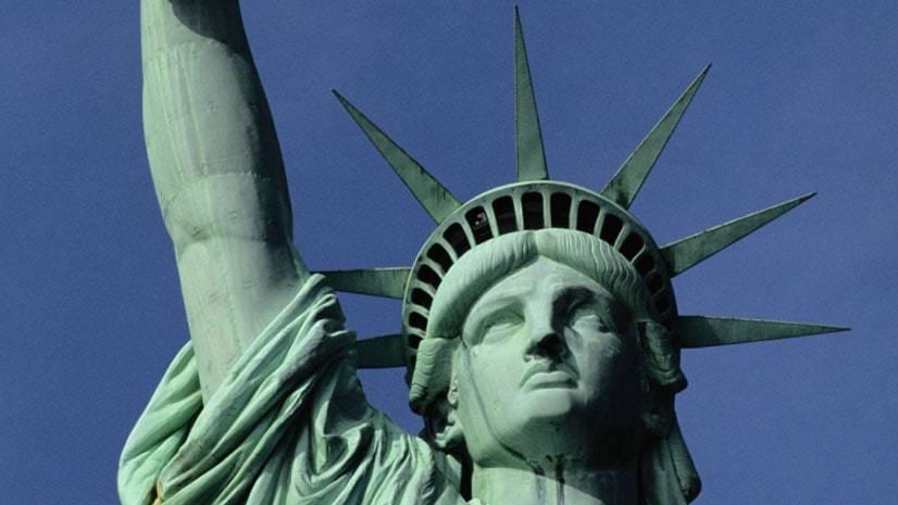 Por que a Estátua da Liberdade é verde?