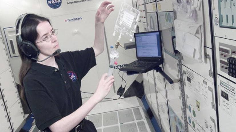 Filtração na Estação Espacial Internacional